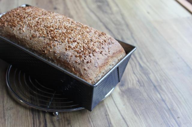 speltbrood lijnzaad